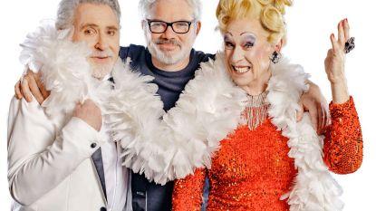 Johny Voners en Koen Crucke spelen koppel in Vlaamse versie van musical 'La cage aux folles'