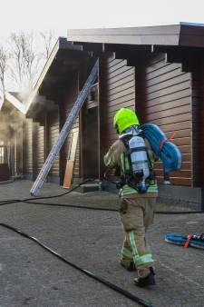 Brand in sportkantine bij Vlaardingse voetbalclub is onder controle