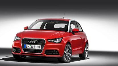 Allerlaatste Audi A1 rolt van band in Brussel