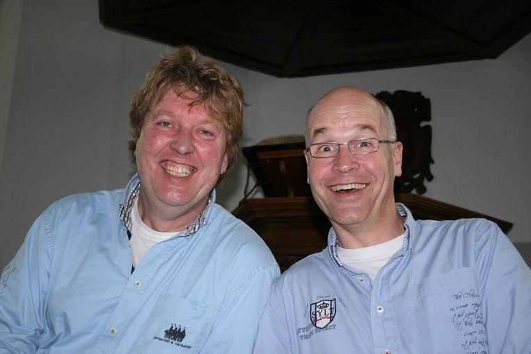 Harm Dijkstra (rechts) Beeld Frank Schallmaier