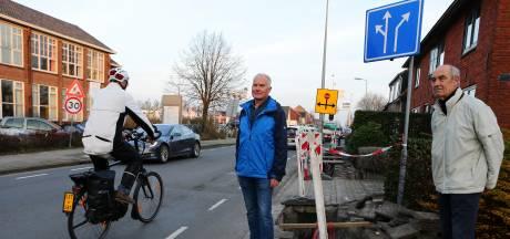 Leimuiden krijgt fietsstraat om dwars overstekende waaghalzen te ontmoedigen: 'Probleem is opgelost'
