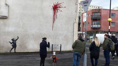 'Valentijnswerk' van Banksy duikt op in Bristol