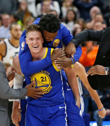 Golden State Warriors winnen ook tweede wedstrijd