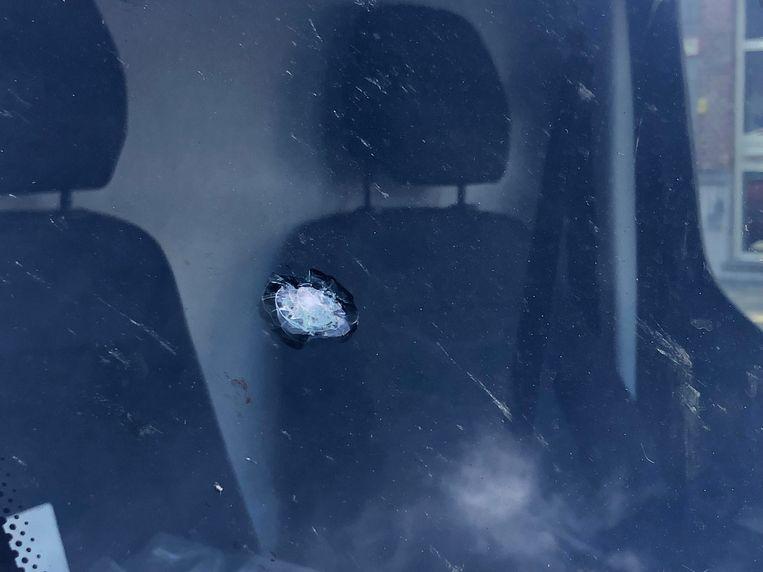 Ook auto's liepen schade op.
