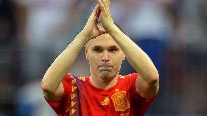 """Iniesta schrijft afscheidsbrief: """"Hebben dingen bereikt waarvan we droomden toen we jong waren"""""""
