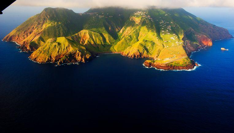 Het eiland Saba. Beeld ANP