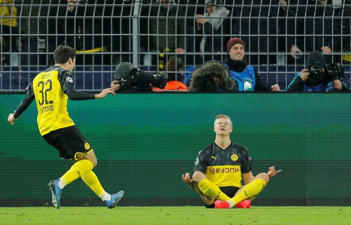 Dix buts en sept matchs de Ligue des Champions: Erling Haaland met l'Europe à ses pieds.