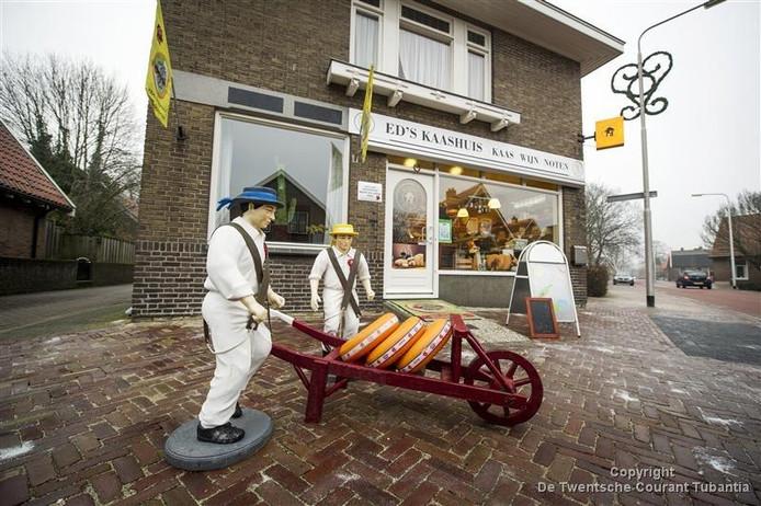 Ed's Kaashuis aan het Oosteinde in Vriezenveen is één van de vele mkb-ondernemers in Twenterand.