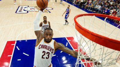 Nieuw indrukwekkend NBA-record voor LeBron James