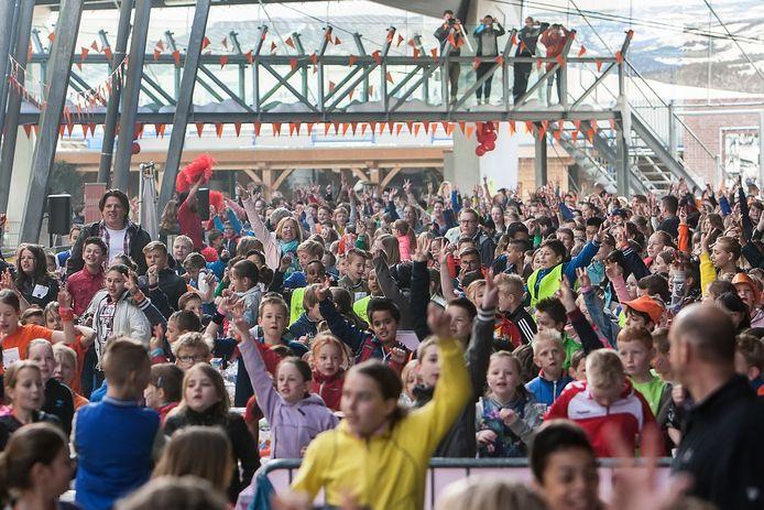 Koningsspelen in de Scheg is altijd groots gevierd. Maar nu gaat Deventer het anders aanpakken: juist kennis maken met de verschillende sportaccommodaties in de gemeente.