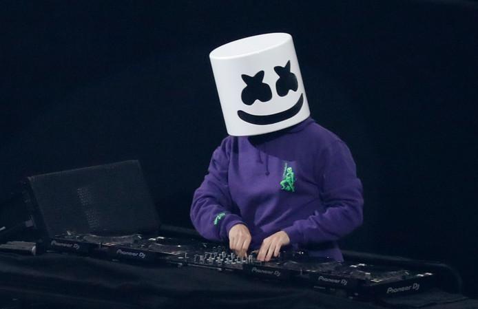 De Amerikaanse dj en producer Marshmello.