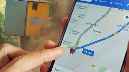 Google Maps toont voortaan hoe snel je mag rijden én waar de snelheidscamera's staan