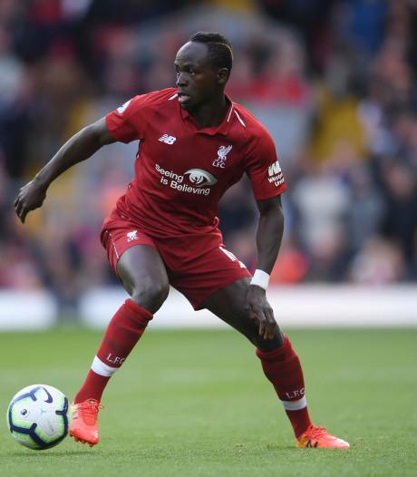 Liverpool-spitsen Mané en Salah met blessures terug uit Afrika