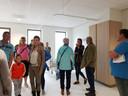 Publiek nam tijdens de Dag van de Bouw een kijkje in een toekomstige driepersoonskamer.