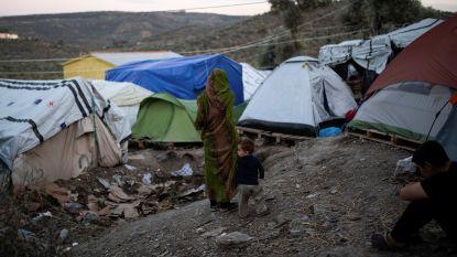 Vierhonderd migranten protesteren tegen leefomstandigheden op Lesbos