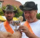 De winnaar op rechts, Jaco Groenendijk.