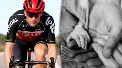 Lotto-renner Nikolas Maes verliest zoontje net voor geboorte