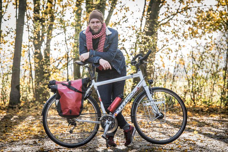 Wouter Deboot fietste dwars door Amerika.