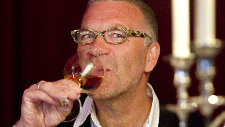 Portret van wijnjournalist Harold Hamersma. Beeld ANP