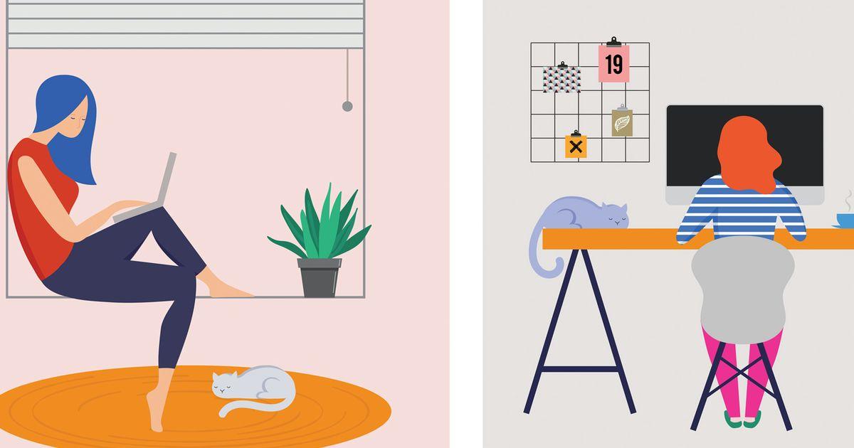 1 op de 3 Belgen doet aan thuiswerken: zo ben je daar even ...