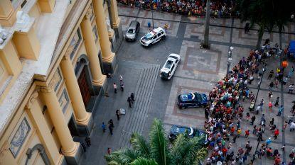 Schutter vuurt in het wilde weg tijdens misviering: vier doden in Braziliaanse kerk