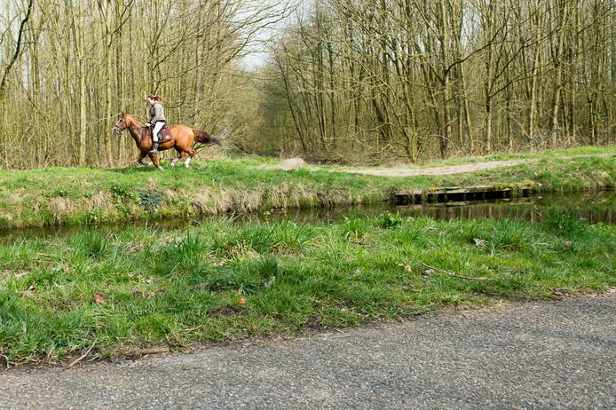 De rechter schrapte de boete voor de geschrokken paardrijdster op Landgoed Leur.