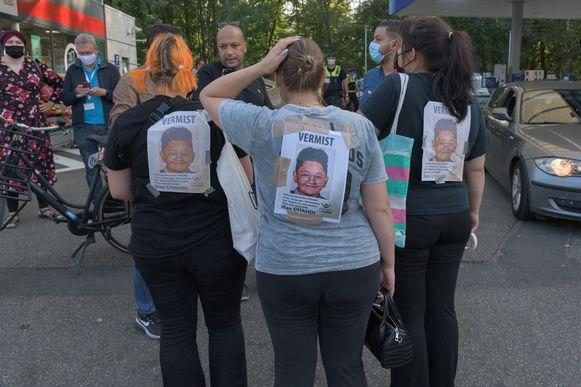 20200918 Belgie Wilrijk zoekaktie naar de vermiste Ilias Chahdi.