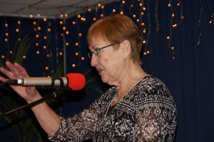 Anny van de Looij, deelnemersprijs Brabantse Kerstgedicht 2017.