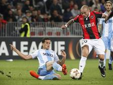 Lazio te sterk voor Nice met Sneijder