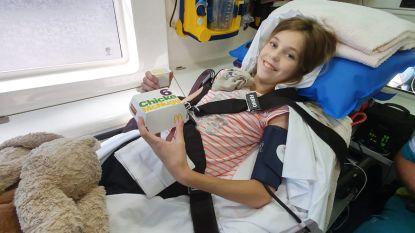 Ziekenwagen speciaal voor jong patiëntje door McDrive