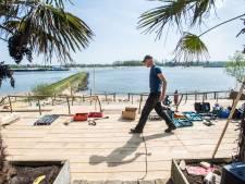 Strandclubs Bemmel en Valburg klaar voor zomerse lente