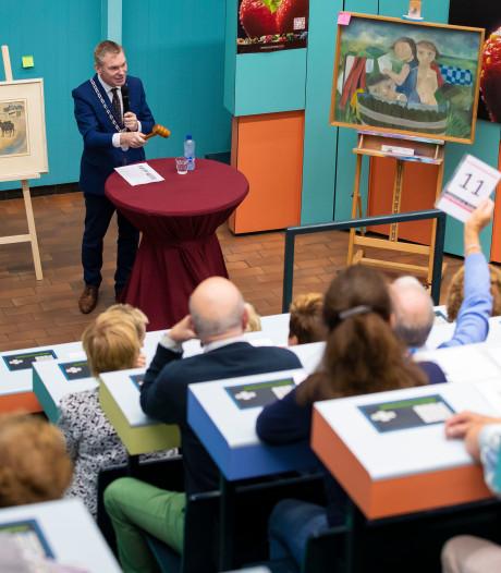 Kunst uit gemeentedepots geveild voor een goed doel in Zaltbommel