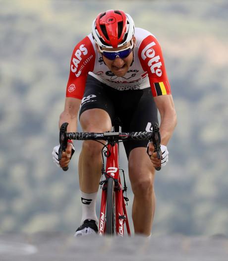 Wellens wint eerste etappe in Ruta del Sol, Kruijswijk vijfde