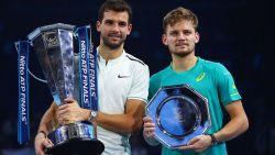 Goffin wordt nummer zeven, Dimitrov komt top drie binnen op ATP-ranking
