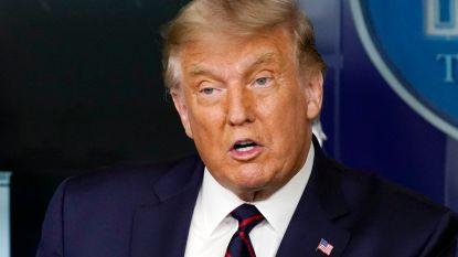 Trump kondigt toelating voor nieuwe coronabehandeling aan