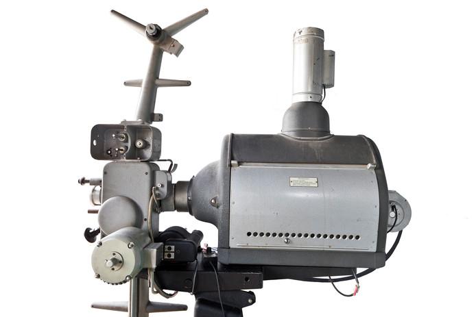 Filmprojector. Foto ter illustratie.
