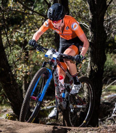 Anne Terpstra terug in beeld met zilveren medaille bij EK cross-country