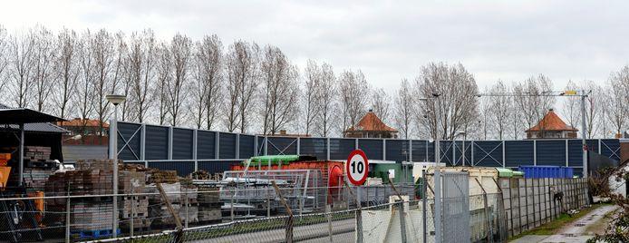 Archieffoto van de milieustraat in Steenbergen