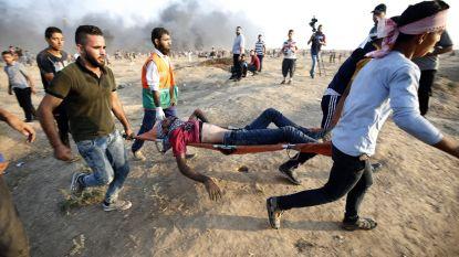 Zes Palestijnen, onder wie kind van 12 jaar, doodgeschoten bij confrontaties aan grens met Gaza