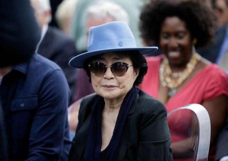 Yoko Ono in 2016. Beeld AP