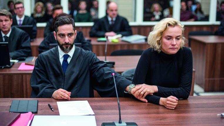 Pijnlijk proces: Katja verloor haar man Nuri en hun zoontje Rocco.  Beeld Aus Dem Nichts