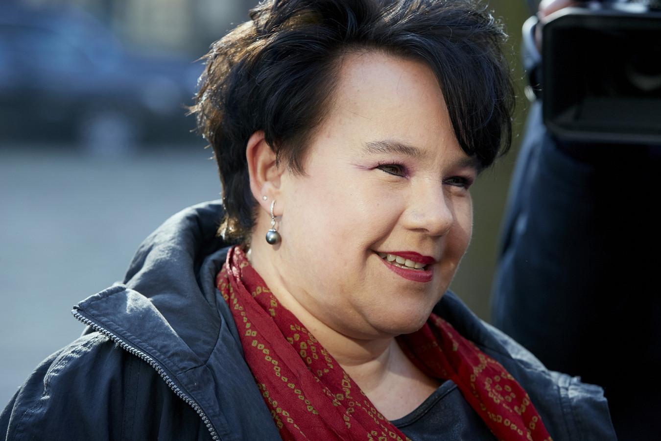 Sharon Dijksma, staatssecretaris van Infrastructuur en Milieu