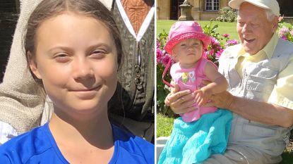 "Grootvader Greta Thunberg overleden: ""We missen hem vreselijk"""