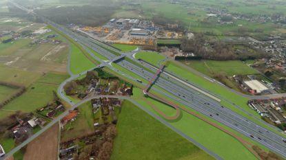 Binnen enkele jaren totaal vernieuwde A12: aanleg fietsbruggen en tramtunnel, kruispunten Londerzeel en Aartselaar worden op- en afritten