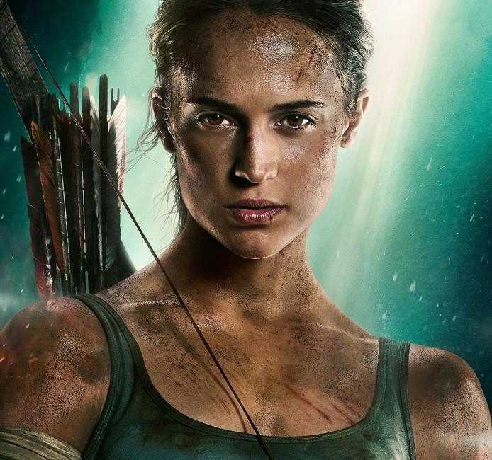 Alicia Vikander als Lara Croft.