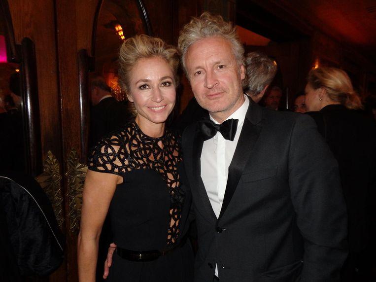 Nog meer royalty: Wendy van Dijk en Erland Galjaard. Beeld Schuim