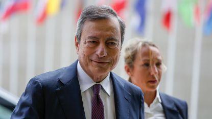 """Draghi: """"ECB neemt maatregelen als economische verwachtingen niet verbeteren"""""""