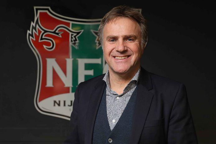 Danny Hoekman in zijn tijd als technisch manager van NEC.
