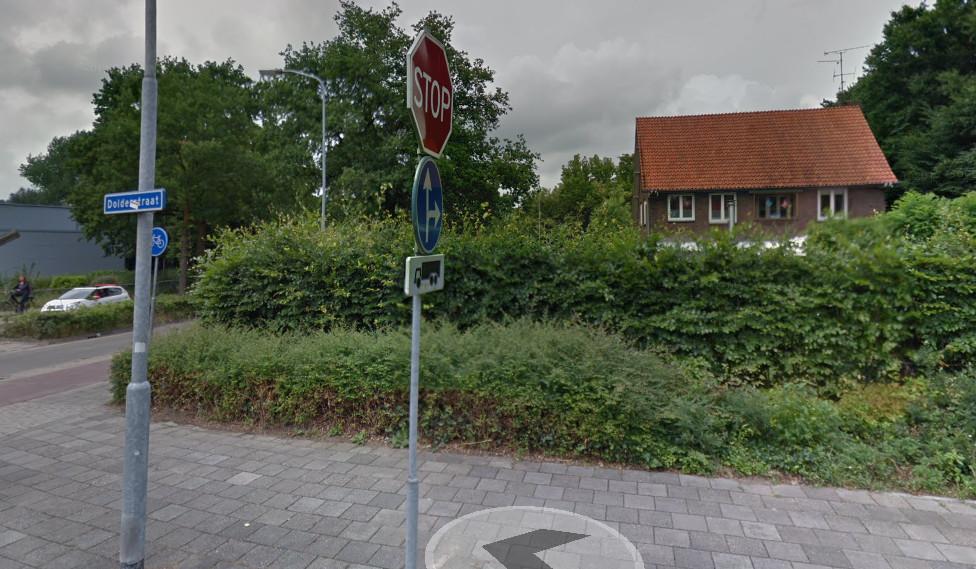 Kruising Dolderstraat/Churchillweg