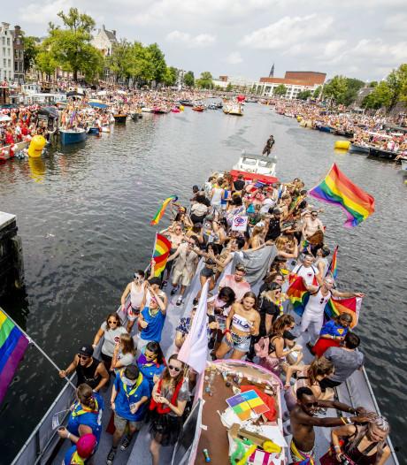 Unicum: gezamenlijke politieke boot bij Pride 2019